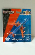 Disney Parks Matchbox 2015 Collectible Model Airplane Plane  Mickey Pluto Donald