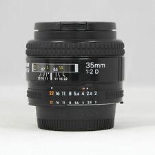 Used Nikon Nikkor 35mm F2.0D / 35.2d / AF Lens for Nikon