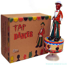 TAP DANCER TIN TOY WINDUP JAZZBO JIM - FREE SHIPPING! Christmas SALE!