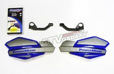 POWERMADD HANDGUARDS HONDA 400EX HAND GUARDS TRX 400EX GUARDS BLUE SILVER GRAY