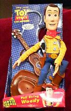 Toy Story Sheriff/Fire Fighting Woody with Cowboy hat, Fireman Hat, Guitar and G