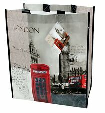 London Design Classico SHOPPING BAG CARRY DONNA ACCESSORIO ENGLAND BRITISH NEW