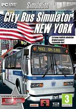 City Bus Simulator New York: Extra Play (PC DVD) NEW SEALED