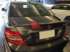 Painted M-BENZ 08~14 W204 C class Sedan AMG type trunk spoiler color-755 Gray ◎