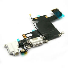 White Headphone Audio Dock Connector Charging USB Data Port Flex Cable iPhone 6