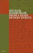 From a Diary of Non-events. Michael Hamburger. Poetry (A2.644)
