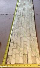 Set Of Vintage Victorian ANTIQUE FIREPLACE Hearth Tile Tiles 85pc Green Grey