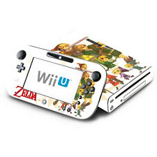 Skin Decal Cover for Nintendo Wii U Console & GamePad - The Legend of Zelda