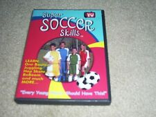 """Rare HTF As Seen on TV Super Soccer Skills DVD """"Every Young Player Should Have"""""""