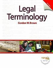 Legal Terminology 5th Edition