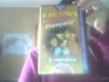 Cassette VHS de Karaoke Musidol francais