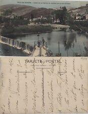 Tarjeta Postal. Pola de Gordón. (León). Canal de la Fábrica de Harinas.