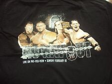 WWE 2007 No Way Out PPV t-shirt brand new! Edge Undertaker Orton Free Shipping!