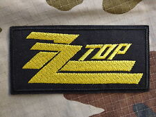 ECUSSON PATCH THERMOCOLLANT toppa aufnaher ZZ TOP blues rock musique rockabilly