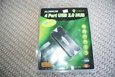 IROCKS 4 PORT USB 2.0 HUB: 110v-240V power adaptor included, IR-4100