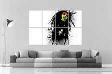 BOB MARLEY ART DESIGN Wall Poster Grand format A0 Large Print 02