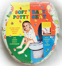 New Kids Children Art Printed Soft Padded baby todler Potty Training Toilet Seat