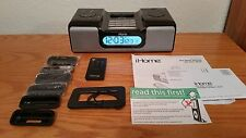 LOOK!! iHOME iH6 DUAL ALARM CLOCK RADIO FOR iPod - EXCELLENT CONDITION!!