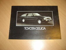 CATALOGUE Toyota Celica de 1980