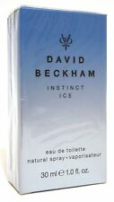 DAVID BECKHAM INSTINCT ICE MEN PERFUME EDT 30 ML SPRAY 1 OZ LIMITED EDITION NIB