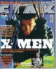 Rivista CIAK ANNO 2000 NUMERO 11 CON SCHEDE - X-MEN + MASCHERA DI SCARY MOVIE