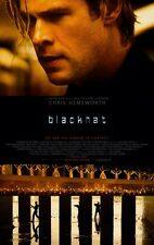 BLACKHAT  4ft x 6ft Banner - Bus Shelter Poster - Chris Hemsworth - Leehom Wang