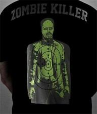 New  GLOW IN THE DARK  Sons of Guns Red Jacket Firearms Zombie T-Shirt  Size M
