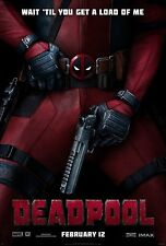 DEADPOOL MARVEL MOVIE POSTER a4 260gsm