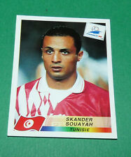 N°492 SOUAYAH TUNISIE TUNISIA PANINI FOOTBALL FRANCE 98 1998 COUPE MONDE WM