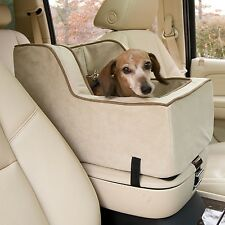 Snoozer Large High-Back Console Pet Car Booster Seats Buckskin/Java
