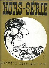 RARE RECUEIL HARA KIRI N° 20 HORS-SÉRIE PUBLICITAIRE 1964 ( N° 42 + 43 )
