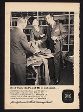 3w1831/ Alte Reklame von 1960 - ORIGINAL ENGLISCH - Für Mode tonangebend.