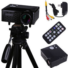 Home Cinema Theater  HD 1080P Multimedia LED LCD Projector PC AV TV VGA USB HDMI