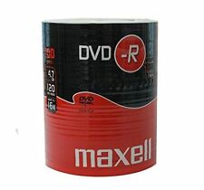 Maxell DVD-R 120 Minutes 4,7 GO 52X Vitesse Enregistrable Disques Vierges