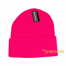 Beanie Plain Knit Ski Hat Skull Cap Cuff Warm Winter Blank Colors Unisex Beany
