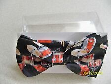 Drums, Drum set, Drummer, Symbols, Rock, Country, Band, pre-tied men's bow tie