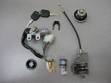 NEW - IGNITION SWITCH KEY SET 50CC CHINESE SCOOTER MOPED WITH GAS CAP & LATCH