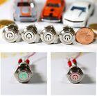 Einbauschalter rastend Schalter 16 mm max 250V / 3A LED 2 farbig rot und grün