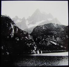 Glass Magic Lantern Slide LOFOTEN ISLANDS FJORD C1910 PHOTO NORWAY