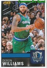190 DERON WILLIAMS USA DALLAS MAVERICKS STICKER NBA BASKETBALL 2017 PANINI