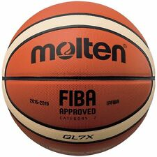 Molten X-Series Leather Basketball, FIBA Approved - BGL7X
