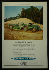 Blackwood Hodge Euclids Twin Engined Tractor 1954 1 Page Advert Advertising