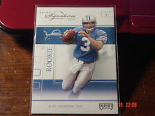 Joey Harrington 2002 Playoff Prime Signatures Beckett Samples # 92