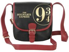 Harry Potter Hogwarts Express Train Platform 9 3/4 Crossbody Purse Saddle Bag