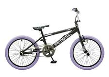"2016 Rooster Big Daddy Kids 20"" Wheel Freestyle BMX Bike Black Purple RS125"