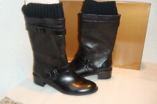 Ellen Tracy Womens NWB Teddy Black Boots Shoes 6.5 MED NEW