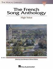 French Song Anthology: The Vocal Library, High Voice, Various, Excellent Book