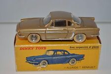 Dinky Toys 543 Renault Floride in very near mint in box all original condition