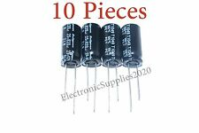 10 pcs Capacitor Rubycon 820uF 25v 105C 10x20mm. Radial. USA Seller