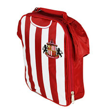 SUNDERLAND FC KIT SHIRT SHAPE INSULATED SCHOOL LUNCH BAG BOX PICNIC GIFT XMAS